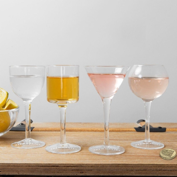 Brewmaster Set of 4 Cocktail Glasses