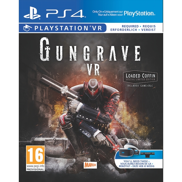 Gungrave VR Loaded Coffin Edition PS4 Game (PSVR Required) - Image 1