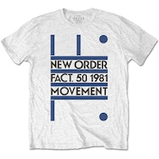 New Order - Movement Men's X-Large T-Shirt - White