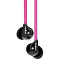 Veho 360 Z-1 Noise Isolating Stereo Earphones with Flat Flex Anti Tangle Cord Pink