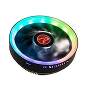 Raijintek Juno Pro RBW Low Profile CPU Cooler - RGB LED