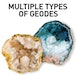 National Geographic Break Open 2 Real Geode - Image 5