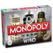 Doctor Who Monopoly 50th Anniversary Edition Board Game