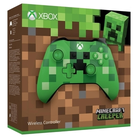 Minecraft Creeper Wireless Xbox One Controller