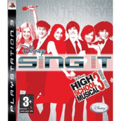 Disney Sing It High School Musical 3 Senior Year Game + Microphones PS3
