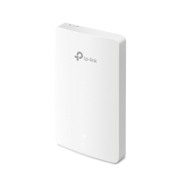 TP-LINK (EAP235-WALL) Omada AC1200 Wireless Wall Mount Access Point, Dual Band, PoE, Gigabit, MU-MIMO, Free Software