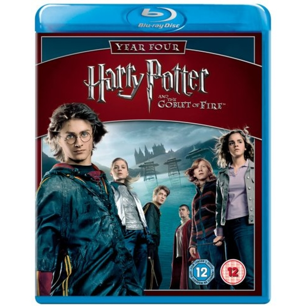 Harry Potter And The Goblet Of Fire Blu-Ray