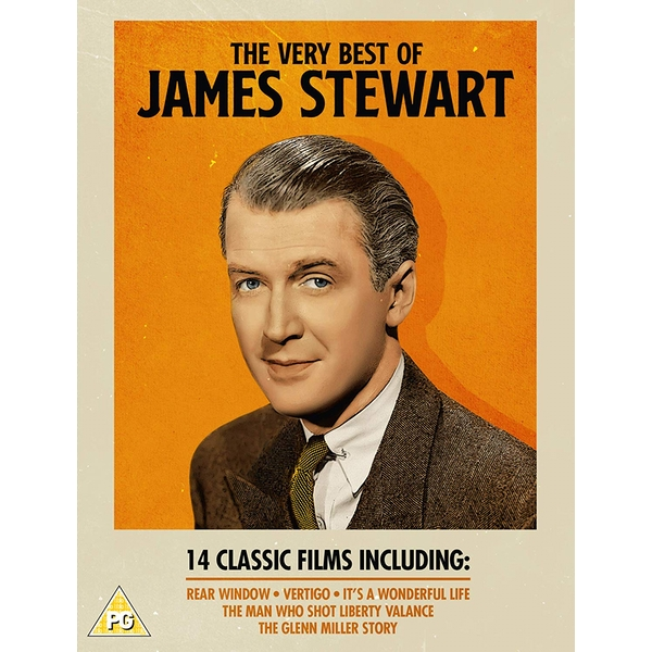 The Very Best of James Stewart (14 Film Collection) DVD