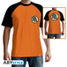 Dragon Ball - Kame Symbol Men's Large T-Shirt - Orange - Image 2
