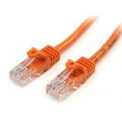 StarTech 2m Cat5e Orange Snagless RJ45 UTP Cat 5e Patch Cable 2m Patch Cord