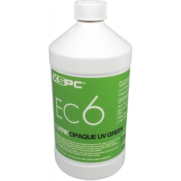 XSPC EC6 Premix Opaque Coolant Green UV