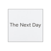 David Bowie - The Next Day Extra Limited Edition CD & DVD