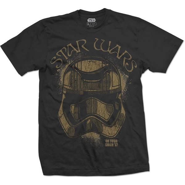 Star Wars - Episode VII First Order Trooper Unisex Small T-Shirt - Black