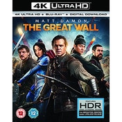 The Great Wall 4K UHD + Blu-ray + Digital Download