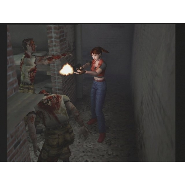 Resident Evil Code Veronica X Game PS2 - Image 2