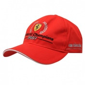 Ferrari World Champion Cap