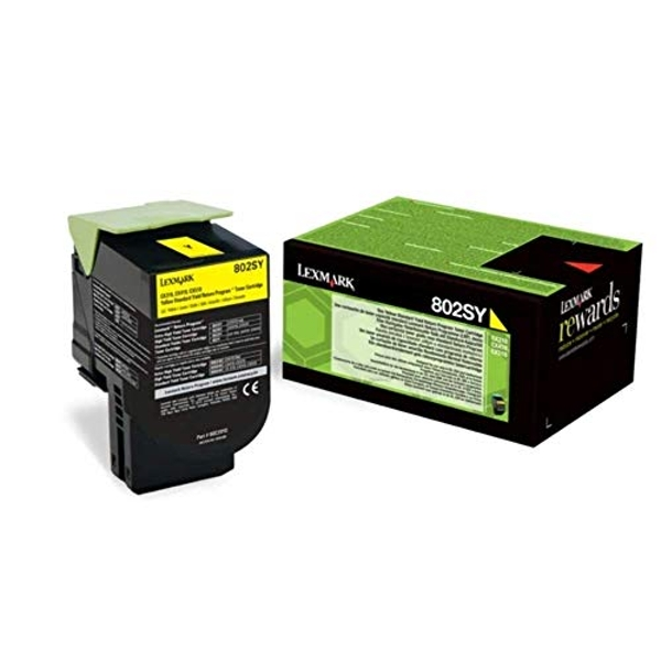 Lexmark 80C2SY0 Laser Toner for CX310DN - Yellow