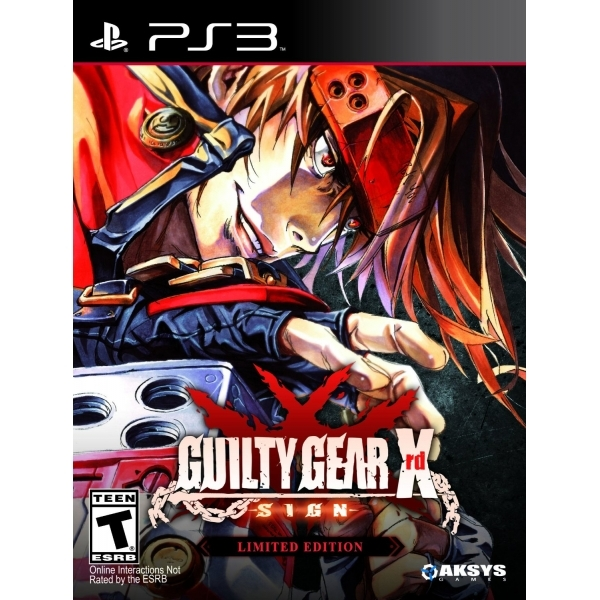 Guilty Gear Xrd Sign Limited Edition PS3 Game (#) - 365games co uk