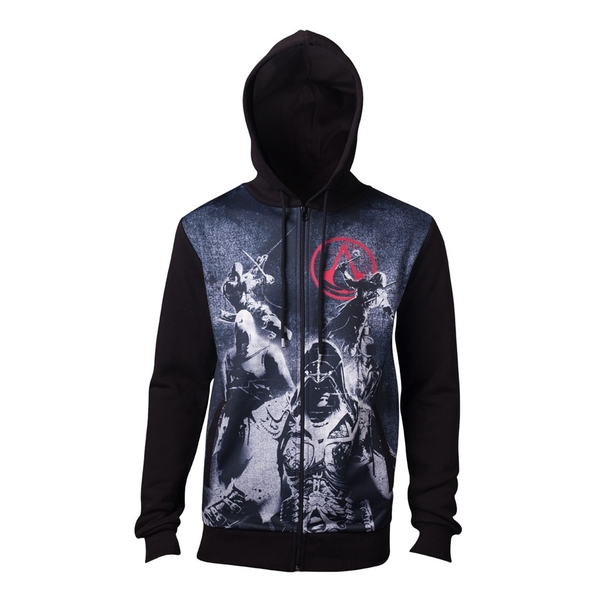 Assassin'S Creed - Live By The Creed Core Men's X-Large Hoodie - Black