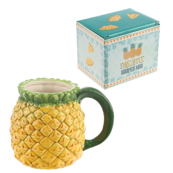 Ceramic Pineapple Mug