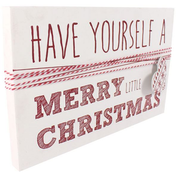 Have Yourself A Merry Little Christmas Wall Sign