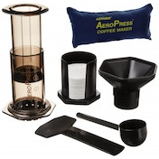 Ex-Display Aerobie AeroPress Coffee Maker with Tote Storage Bag Used - Like New