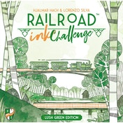 Railroad Ink Challenge Lush Green Edition Board Game