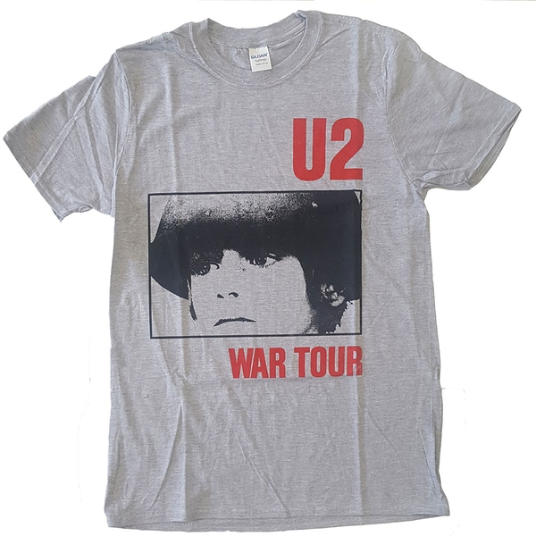U2 - War Tour Unisex X-Large T-Shirt - Grey