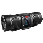 JVC Bluetooth Portable CD Boomblaster with Lightning Dock and DAB