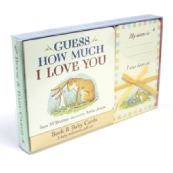 Guess How Much I Love You: Book & Baby Cards Milestone Moments Gift Set Board book