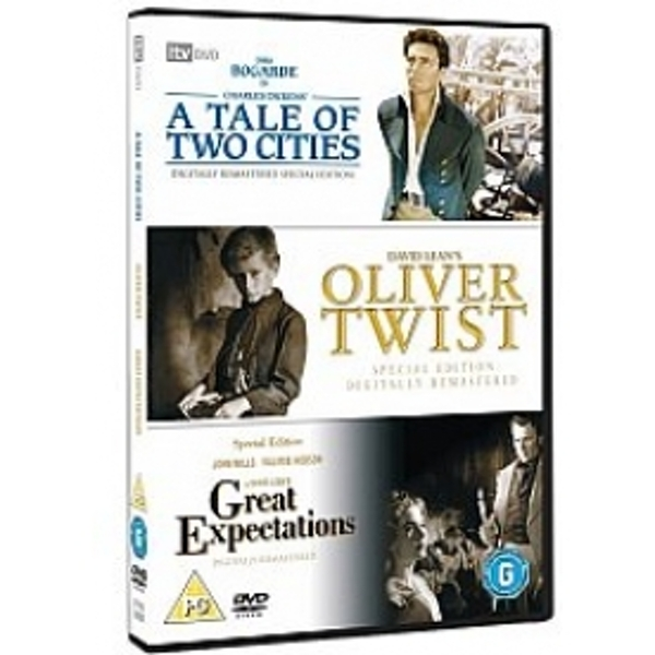 Classic Films Triple - Great Expectations / Oliver Twist / A Tale Of Two Cities DVD