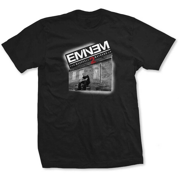 Eminem - Marshall Mathers 2 Women's Medium T-Shirt - Black