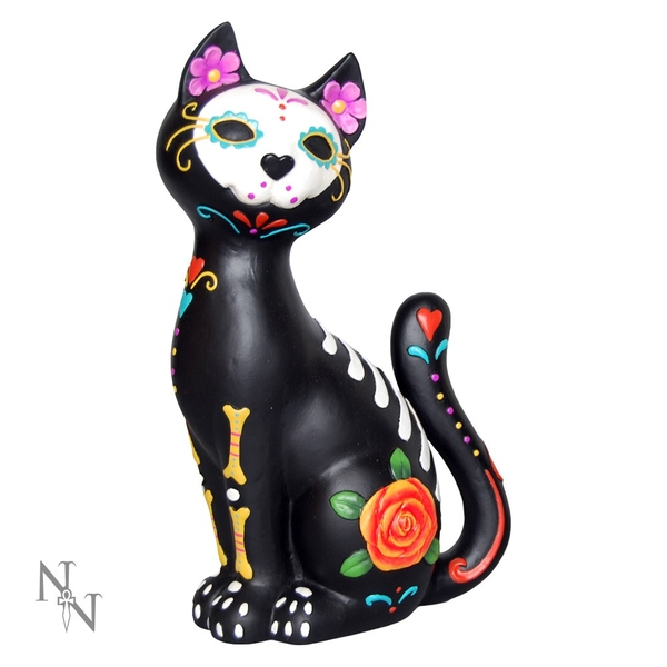 Sugar Kitty Cat Statue