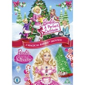 BARBIE CHRISTMAS DOUBLE DVD