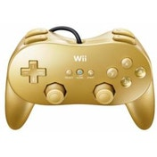 Goldeneye Gold Classic Pro Controller Wii