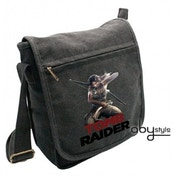Tomb Raider Lara Fighting Small Messenger Bag