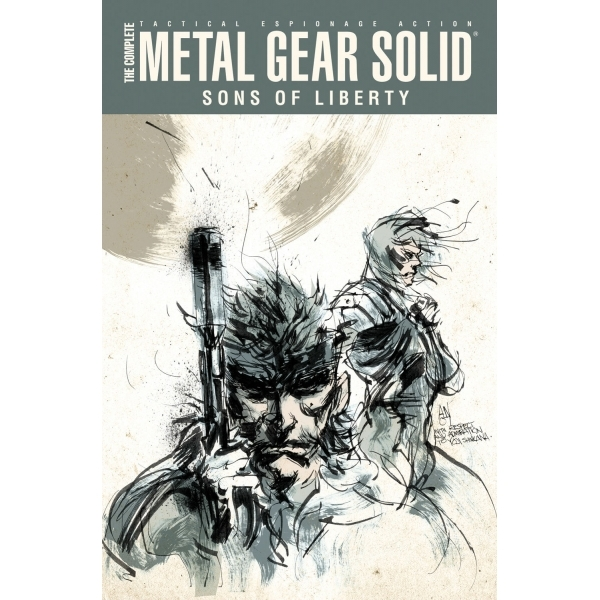 Complete Metal Gear Solid: Sons Of Liberty Hardcover