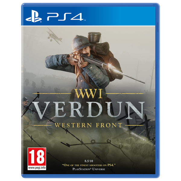 WWI Verdun Western Front PS4 Game