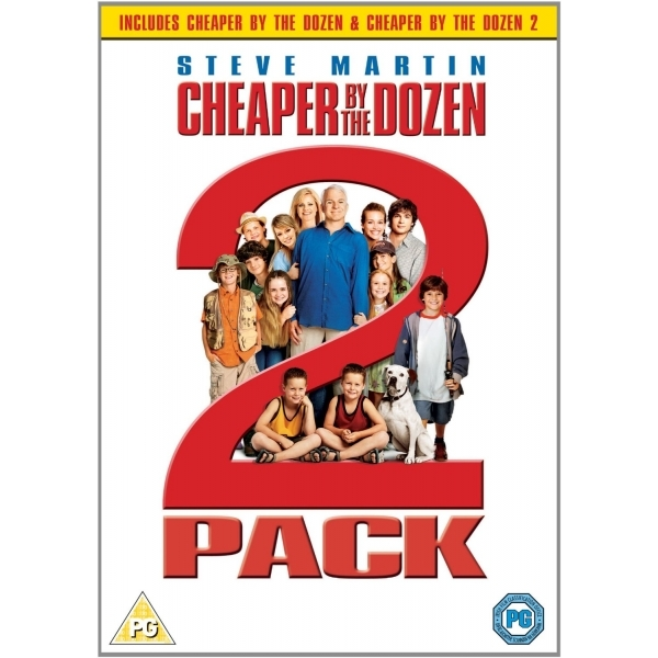 Cheaper By The Dozen / Cheaper By The Dozen 2 DVD
