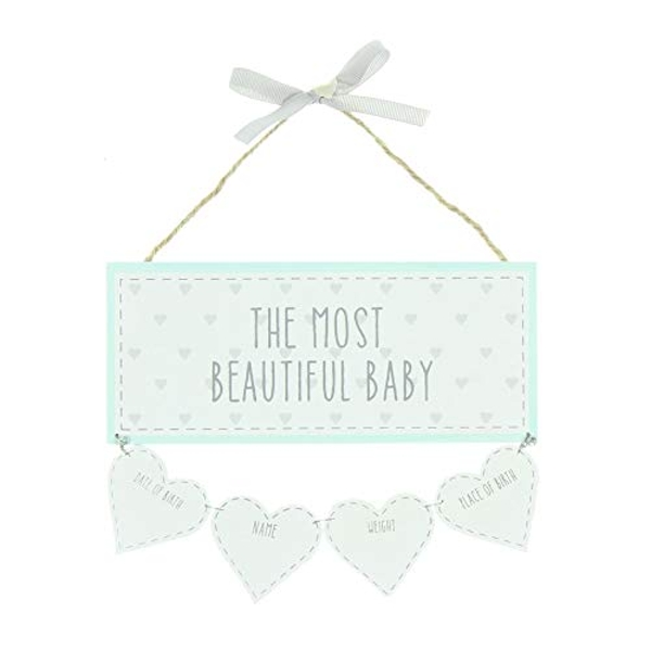 Petit Cheri Beautiful Baby Data Plaque
