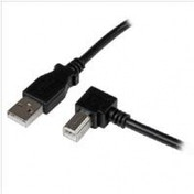 StarTech 2m USB 2.0 A to Right Angle B Cable - M/M