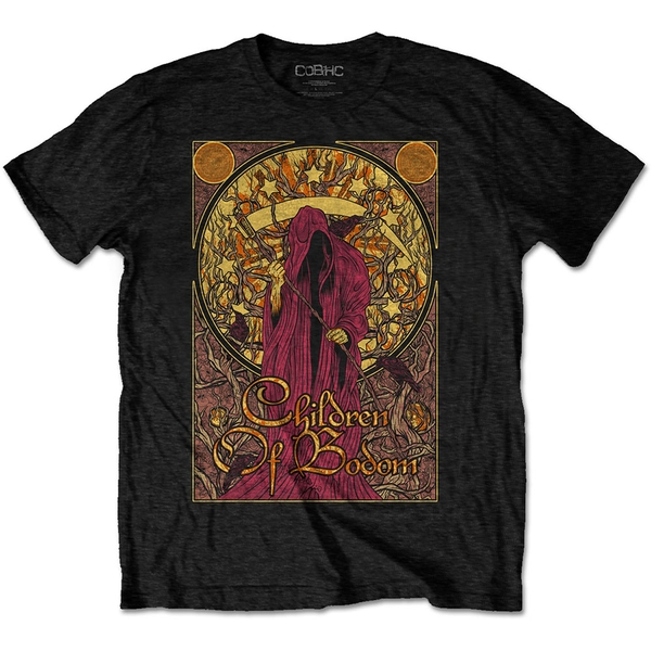 Children Of Bodom - Nouveau Reaper Men's Large T-Shirt - Black