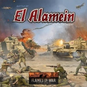 Flames of War - Battle of El Alamein: War in the Desert Starter Box Board Game