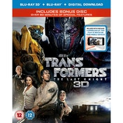 Transformers: The Last Knight 3D Blu-ray