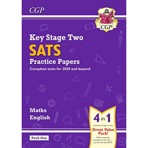 New KS2 Maths and English SATS Practice Papers Pack (for the 2021 tests) - Pack 1  Paperback / softback 2018