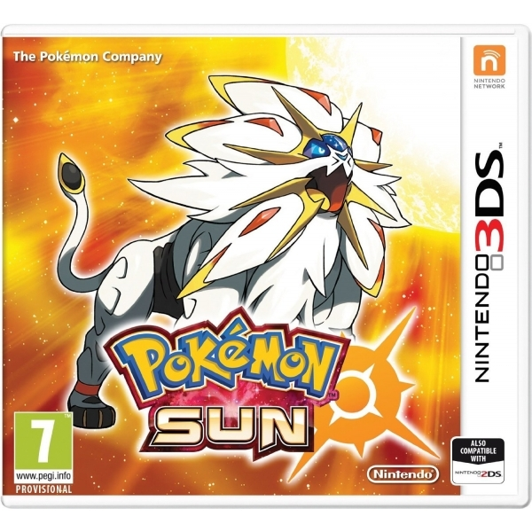 Ex-Display Pokemon Sun 3DS Game Used - Like New
