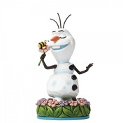 Dreaming of Summer Olaf with Flower (Disney Traditions) Figurine