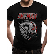 Antman And The Wasp - Ant Profile Men's Medium T-Shirt - Black