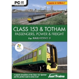 Class 153 and Totham Passengers Power and Freight Expansion Pack Game PC