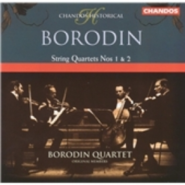 Borodin Quartet String Quartets Nos. 1 And 2 CD